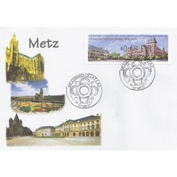 FRANCIA (2011). 84 Congres FFAP - Metz. Sobre primer día (0,58)