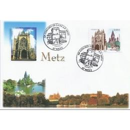 FRANCIA (2011). 84 Congres FFAP - Metz. Sobre primer día (Sello)
