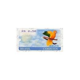 BRASIL (2000). Ararajuba. ATM nuevo