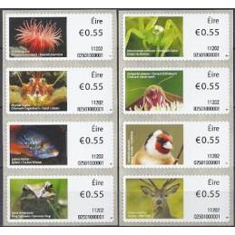 IRLANDA (2011). Animales (2) - 02501. Sellos nuevos