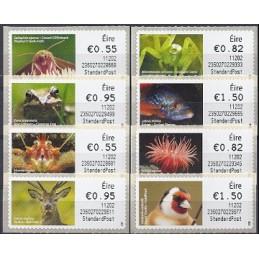 IRLANDA (2011). Animales (2) - 235027. Serie  8 val. (1r. día)