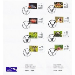 IRLANDA (2011). Animales (2) - 235027. Sobres P.D. España