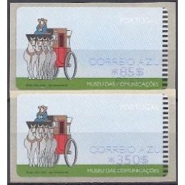 PORTUGAL (2000). Museu comunicaçoes - NwV. Serie 2 val. CA ($+EU