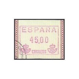 ESPAÑA. 1.1. Frama - Papel mate. ATM usado