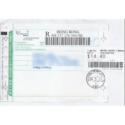 HONG KONG (2011). Emision básica (3)- KBY. Sobre P.D. (certif.)