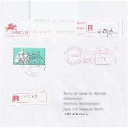 PORTUGAL (1993). Nau. Sobre primer día (certif.)
