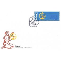 PORTUGAL (1997). PORTUGAL 98 - SMD. Sobre P.D. (C. Azul)