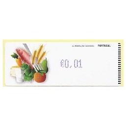 PORTUGAL (2009). Alimentación - Crouzet azul. ATM (0,01)
