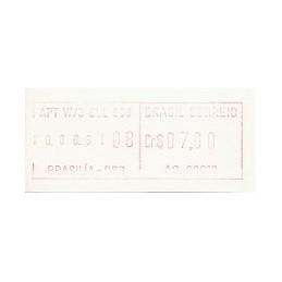 BRASIL (1981). Emisión básica (1) - AG. 00010. ATM nuevo