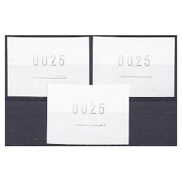 DINAMARCA (2003). Carta. ATMs nuevos, impresion reverso