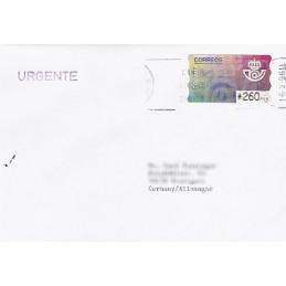 ESPAÑA. 11.1. Emblema postal (2). PTS-4 Mobba. Sobre (urgente)