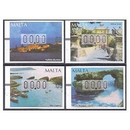 MALTA (2002). Turismo - 04. Etiquetas test (00.00)
