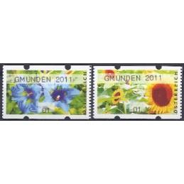 AUSTRIA (2011). GMUNDEN 2011 (Flores 3). ATMs nuevos (01)