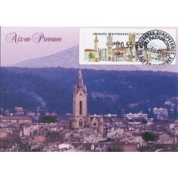 FRANCIA (2011). Patrimoine Aix Provence. Tarjeta máxima (St Jean