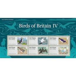 R. UNIDO (2011). Pájaros (4) - 002011 9. Carpeta con los sellos