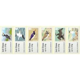 R. UNIDO (2011).  Pájaros (4) - STAMPEX 002011 91. ATMs nuevos