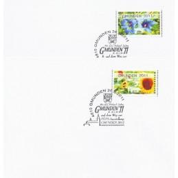AUSTRIA (2011). GMUNDEN 2011 (Flores 3). Sobres P.D.