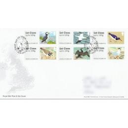 R. UNIDO (2011). Pájaros (4) - 002011 9. Sobre primer día