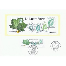 FRANCIA (2011). Lettre Verte - LISA 1. Hoja P.D. (0,57)
