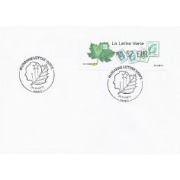 FRANCIA (2011). Lettre Verte - LISA 1. Sobre P.D. (0,57) Paris
