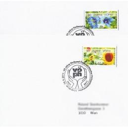AUSTRIA (2011). 90 JAHRE VÖPH (Flores 3). Sobres P.D.