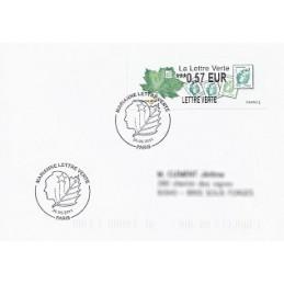FRANCIA (2011). Lettre Verte - LISA 2. Sobre P.D. (FR) Paris