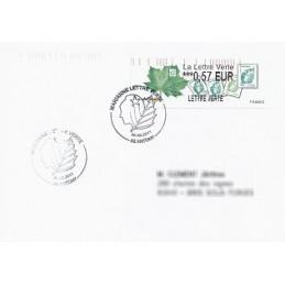 FRANCIA (2011). Lettre Verte - LISA 2. Sobre P.D. (FR) Antony