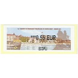 FRANCIA (2011). 66 Congres GPCO - Cognac. ATM nuevo (0,55 ECOPLI