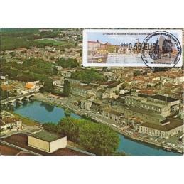 FRANCIA (2011). 66 Congres GPCO - Cognac. Tarjeta máxima *