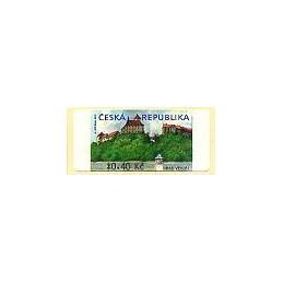 REP. CHECA (2000). Castillo de Veverí (2). ATM nuevo