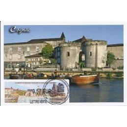 FRANCIA (2011). 66 Congres GPCO - Cognac. Tarjeta máxima