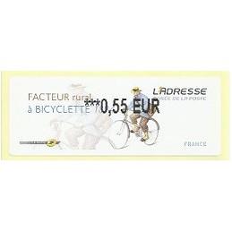 FRANCIA (2011). Adresse - Facteur rural. ATM nuevo (0,55)