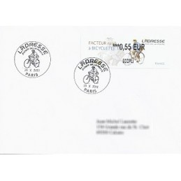 FRANCIA (2011). Adresse - Facteur rural. Sobre P.D. (0,55 ECOPLI