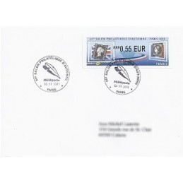 FRANCIA (2011). 65 Salon Automne - Sellos. Sobre P.D. (0,55 ECOP