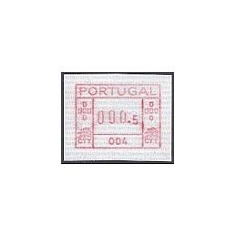 PORTUGAL (1981). Frama - 004. ATM nuevo (0.5)