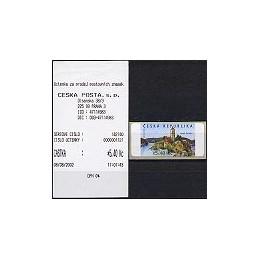 REP. CHECA (2002). Castillo de Zvikov. ATM nuevo + rec.