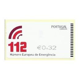 PORTUGAL (2011). 112 - SMD negro. ATM nuevo