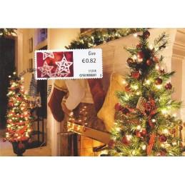 IRLANDA (2011). Navidad - 02501. Tarjeta máxima (2)