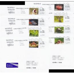 IRLANDA (2011). Animales (2) - 9821001. Sobres a España