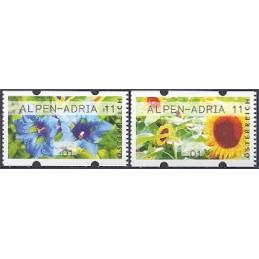 AUSTRIA (2011). ALPEN-ADRIA 11 (Flores 3). ATMs nuevos (01)