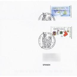 AUSTRIA (2011). CHRISTKINDL 2011 (Inv. 4). Sobres P.D. (España)