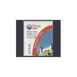 ESPAÑA (2003). Global MAIL. Sello nuevo (El Alcazar)