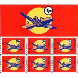 ESPAÑA (1998). Nordic Mail - TuristPorto. Carnet sellos (Avión)