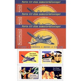 ESPAÑA (1994). Nordic Mail - TuristPorto. Carnets (Post Suède)