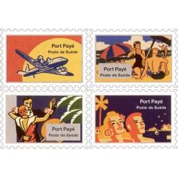 ESPAÑA (1996). Nordic Mail - TuristPorto. Sellos (Poste de Suède