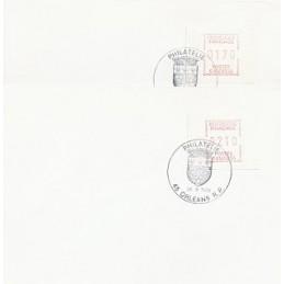 FRANCIA (1985). Emisión Frama - S0145234. Sobres P.D. (serie)