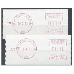 FRANCIA (1983). Satas - N1-01-266. Sellos nuevos