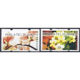 AUSTRIA (2012). PHILATELIE.SHOP (Flores 4). ATMs nuevos (01)