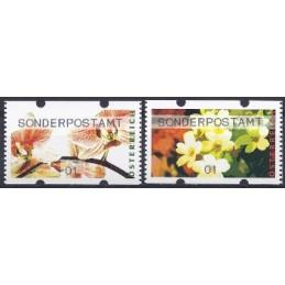 AUSTRIA (2012). SONDERPOSTAMT (Flores 4). ATMs nuevos (01)