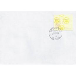 MALAYSIA (1987). Emblema postal. Sobre (1988)
